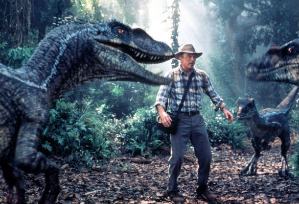 How they made the dinosaur sounds in Jurassic Park