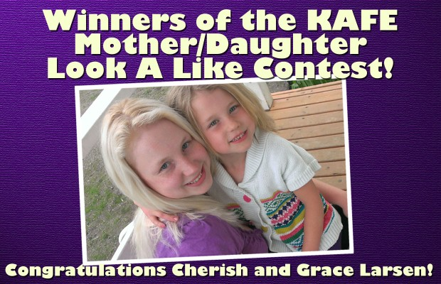KAFE Mother/Daughter Lookalike Contest