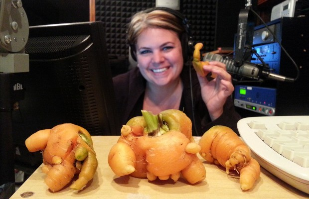 Mandy's mutant carrots!