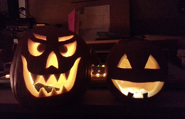 Dave and Mandy's pumpkins!