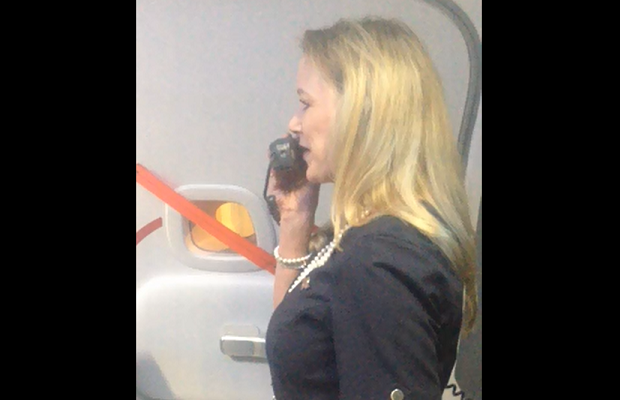 Southwest flight attendant's comedy routine