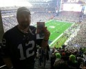 Dave at the BIG Game!